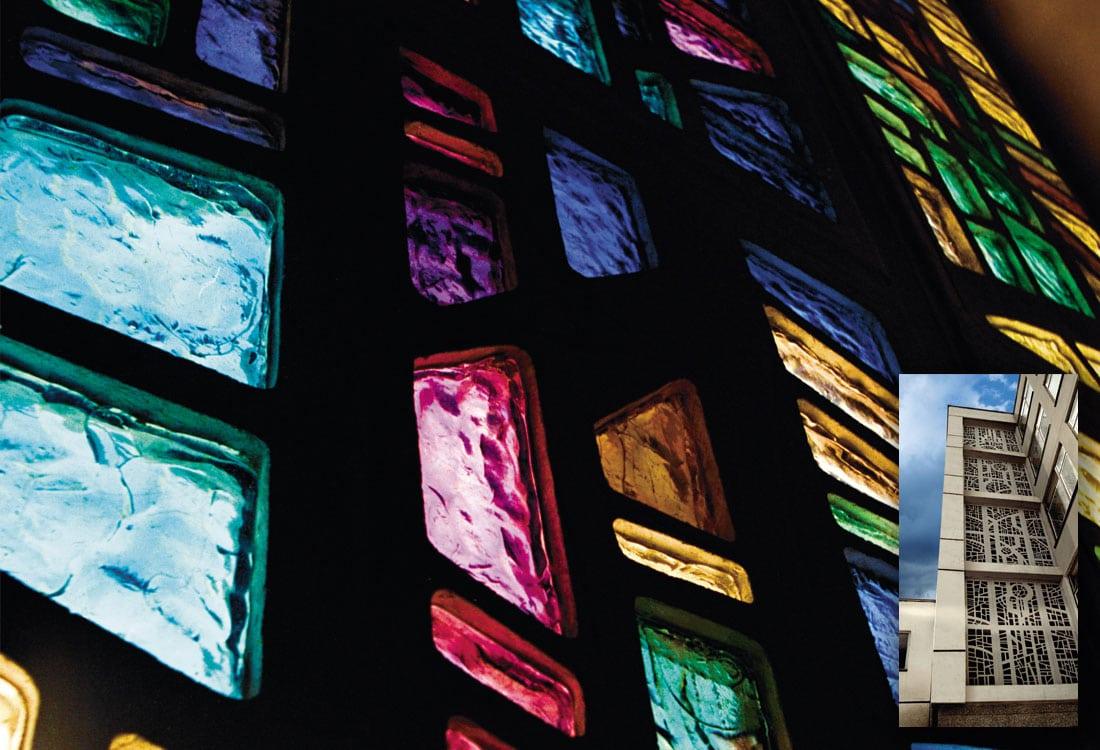 Decorative Slab Glass Windows
